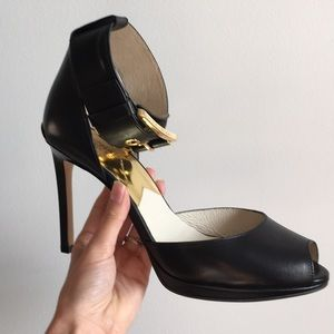 Micheal Kors Leather Heels